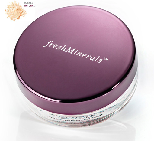 FRESH MINERALS Пудра-основа рассыпчатая с минералами Natural / Mineral Loose Powder Foundation 11гр