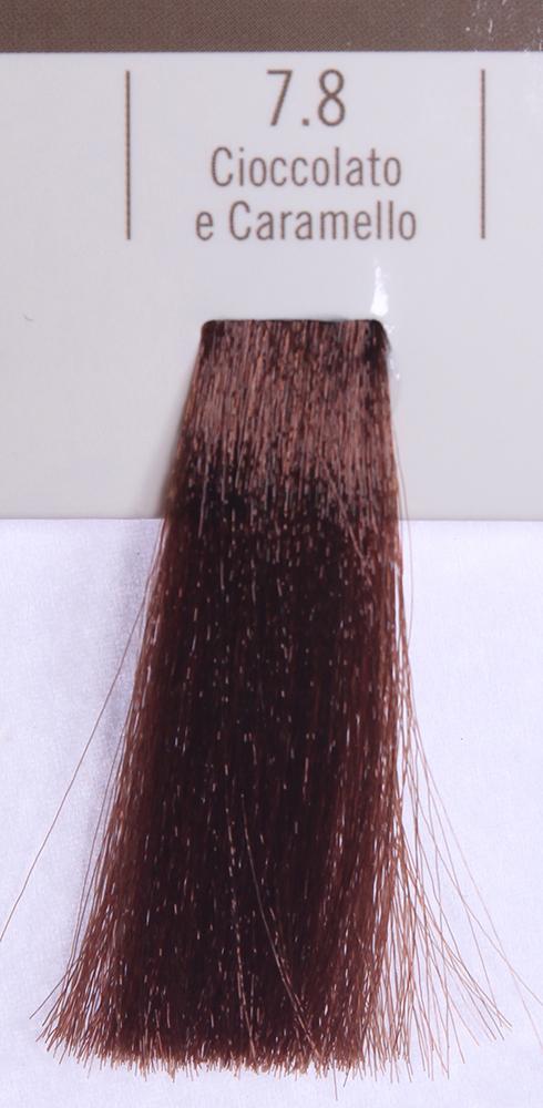 BAREX 7.8 краска для волос / PERMESSE 100млКраски<br>Оттенок: Карамель и Шоколад. Профессиональная крем-краска Permesse отличается низким содержанием аммиака - от 1 до 1,5%. Обеспечивает блестящий и натуральный косметический цвет, 100% покрытие седых волос, идеальное осветление, стойкость и насыщенность цвета до следующего окрашивания. Комплекс сертифицированных органических пептидов M4, входящих в состав, действует с момента нанесения, увлажняя волосы, придавая им прочность и защиту. Пептиды избирательно оседают в самых поврежденных участках волоса, восстанавливая и защищая их. Масло карите оказывает смягчающее и успокаивающее действие. Комплекс пептидов и масло карите стимулируют проникновение пигментов вглубь структуры волоса, придавая им здоровый вид, блеск и долговечность косметическому цвету. Активные ингредиенты:&amp;nbsp;Сертифицированные органические пептиды М4 - пептиды овса, бразильского ореха, сои и пшеницы, объединенные в полифункциональный комплекс, придающий прочность окрашенным волосам, увлажняющий и защищающий их. Сертифицированное органическое масло карите (масло ши) - богато жирными кислотами, экстрагируется из ореха африканского дерева карите. Оказывает смягчающий и целебный эффект на кожу и волосы, широко применяется в косметической индустрии. Масло карите защищает волосы от неблагоприятного воздействия внешней среды, интенсивно увлажняет кожу и волосы, т.к. обладает высокой степенью абсорбции, не забивает поры. Способ применения:&amp;nbsp;Крем-краска готовится в смеси с Молочком-оксигентом Permesse 10/20/30/40 объемов в соотношении 1:1 (например, 50 мл крем-краски + 50 мл молочка-оксигента). Молочко-оксигент работает в сочетании с крем-краской и гарантирует идеальное проявление краски. Тюбик крем-краски Permesse содержит 100 мл продукта, количество, достаточное для 2 полных нанесений. Всегда надевайте подходящие специальные перчатки перед подготовкой и нанесением краски. Подготавливайте смесь крем-краски и молочка-оксигента Permesse в неметалли