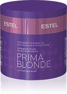 ESTEL PROFESSIONAL Маска оттеночная серебристая для холодных оттенков блонд / Prima Blonde 300млМаски<br>Формула серебристой ухаживающей маски разработана специально для обесцвеченных и блондированных волос, она эффективно нейтрализует нежелательный желтый нюанс и подчеркивает красоту холодных оттенков блонд; содержит интенсивный восстанавливающий и питательный комплекс. Нежная кремовая консистенция маски обеспечивает легкое комфортное нанесение на волосы, способствует максимально глубокому проникновению ухаживающих компонентов в структуру волос. Волосы становятся шелковистыми, гладкими, струящимися, приобретают здоровый блеск и роскошный вид. Способ применения: рекомендуется использовать перчатки. Нанесите на чистые влажные волосы, оставьте на 15-20 минут, тщательно смойте.&amp;nbsp;Маску рекомендуется использовать мастерам для проведения салонных комплексных ухаживающих процедур для волос, а также для домашнего ухода.&amp;nbsp;<br><br>Цвет: Блонд