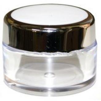 RFbeauty Баночка 50мл СМ237Баночки<br>Прозрачная пластиковая баночка с завинчивающейся крышкой, предназначена для хранения косметических средств.<br>