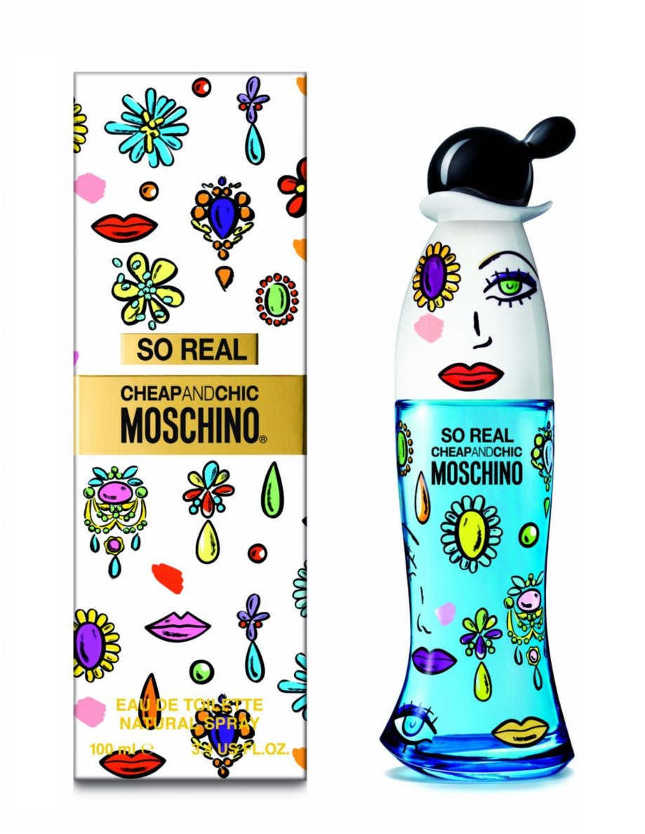 Moschino вода туалетная женская moschino so real cheap and chic, спрей 100 мл