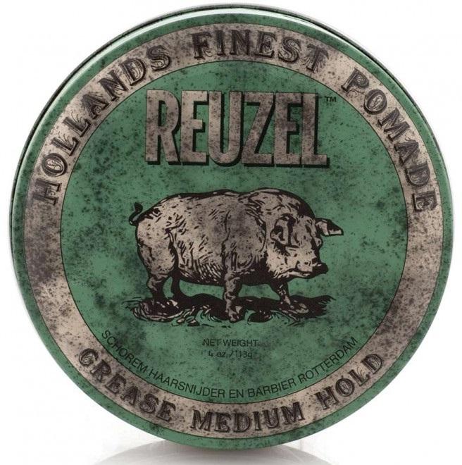 REUZEL Помада зеленая на петролатумной основе / Pig 113 г