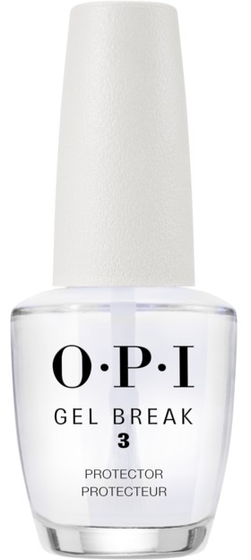 OPI Покрытие верхнее защищающее с глянцевым финишем / Gel Break Protector Top Coat 15 мл фото