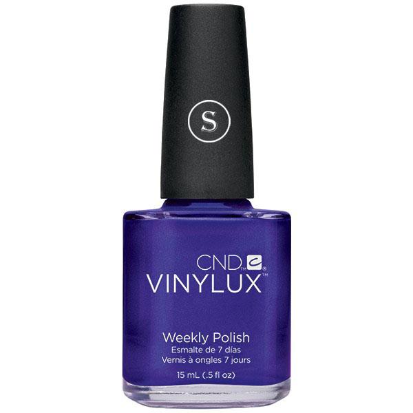 CND 138 лак недельный для ногтей Purple Puirple / VINYLUX 15мл cnd 154 лак недельный для ногтей tropix vinylux 15мл