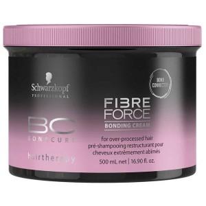 SCHWARZKOPF PROFESSIONAL Крем восстанавливающий / BC Fibre Force 500мл шампунь schwarzkopf professional keratin restore bonding shampoo