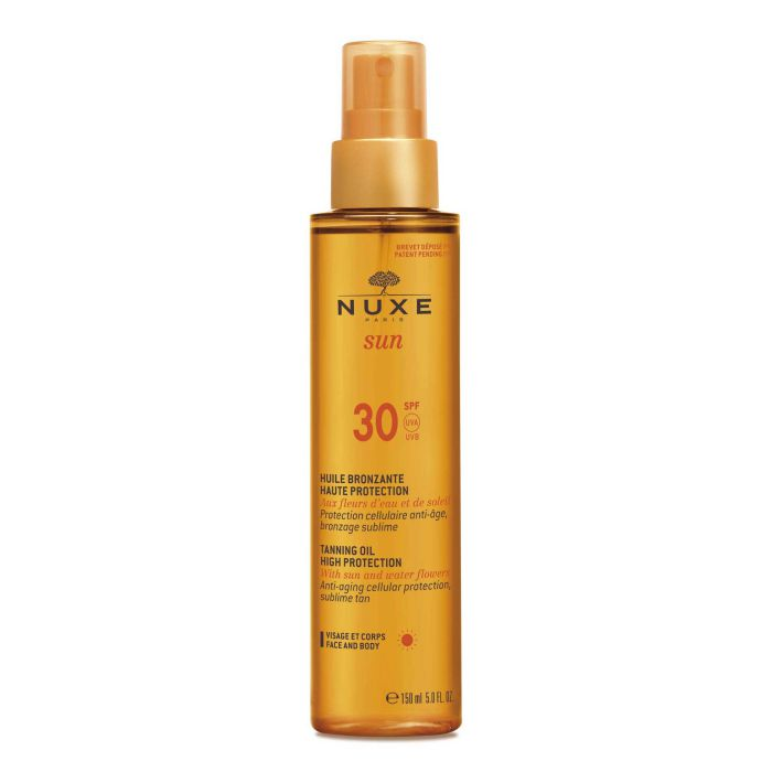 Купить NUXE Масло солнцезащитное для загара для лица и тела / NUXE SUN SPF 30 150 мл