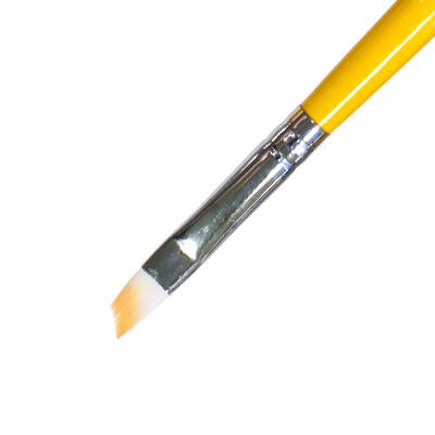 IRISK PROFESSIONAL Кисть скошенная для геля, искусственный ворс № 4