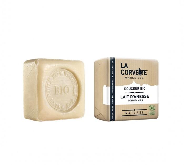 LA CORVETTE Мыло био-крем Молоко ослицы 100 г - Мыла