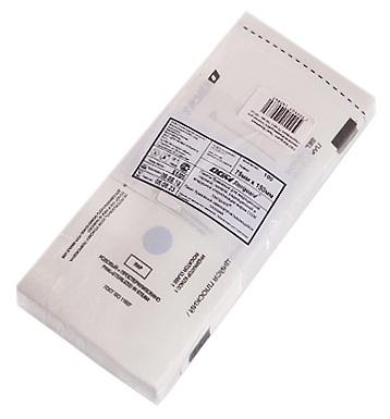 Купить DGM Пакет бумажный самозапечатывающийся плоский для медицинской стерилизации / DGM Steriguard 75*150 мм 100 шт