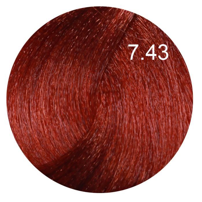 FARMAVITA 7.43 краска для волос, блондин медно-золотой / B.LIFE COLOR 100 мл