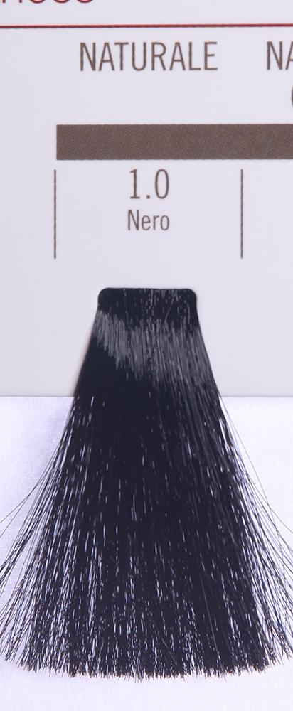 BAREX 1.0 краска для волос / PERMESSE 100млКраски<br>Оттенок: Черный. Профессиональная крем-краска Permesse отличается низким содержанием аммиака - от 1 до 1,5%. Обеспечивает блестящий и натуральный косметический цвет, 100% покрытие седых волос, идеальное осветление, стойкость и насыщенность цвета до следующего окрашивания. Комплекс сертифицированных органических пептидов M4, входящих в состав, действует с момента нанесения, увлажняя волосы, придавая им прочность и защиту. Пептиды избирательно оседают в самых поврежденных участках волоса, восстанавливая и защищая их. Масло карите оказывает смягчающее и успокаивающее действие. Комплекс пептидов и масло карите стимулируют проникновение пигментов вглубь структуры волоса, придавая им здоровый вид, блеск и долговечность косметическому цвету. Активные ингредиенты:&amp;nbsp;Сертифицированные органические пептиды М4 - пептиды овса, бразильского ореха, сои и пшеницы, объединенные в полифункциональный комплекс, придающий прочность окрашенным волосам, увлажняющий и защищающий их. Сертифицированное органическое масло карите (масло ши) - богато жирными кислотами, экстрагируется из ореха африканского дерева карите. Оказывает смягчающий и целебный эффект на кожу и волосы, широко применяется в косметической индустрии. Масло карите защищает волосы от неблагоприятного воздействия внешней среды, интенсивно увлажняет кожу и волосы, т.к. обладает высокой степенью абсорбции, не забивает поры. Способ применения:&amp;nbsp;Крем-краска готовится в смеси с Молочком-оксигентом Permesse 10/20/30/40 объемов в соотношении 1:1 (например, 50 мл крем-краски + 50 мл молочка-оксигента). Молочко-оксигент работает в сочетании с крем-краской и гарантирует идеальное проявление краски. Тюбик крем-краски Permesse содержит 100 мл продукта, количество, достаточное для 2 полных нанесений. Всегда надевайте подходящие специальные перчатки перед подготовкой и нанесением краски. Подготавливайте смесь крем-краски и молочка-оксигента Permesse в неметаллической посуд