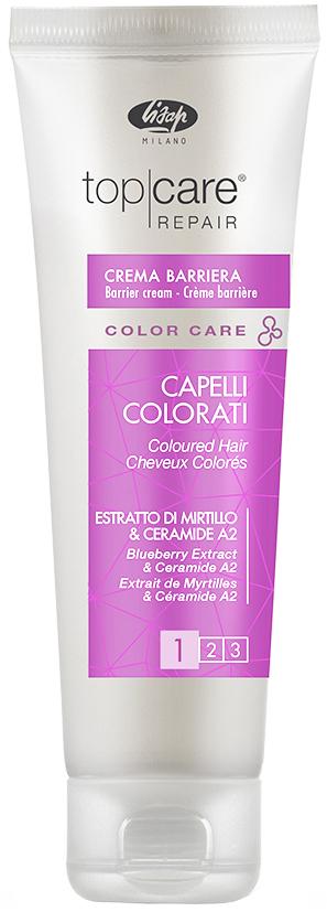 Фото #1: LISAP MILANO Крем для защиты кожи головы от окрашивания / Top Care Repair Color Care Barrier Cream 1