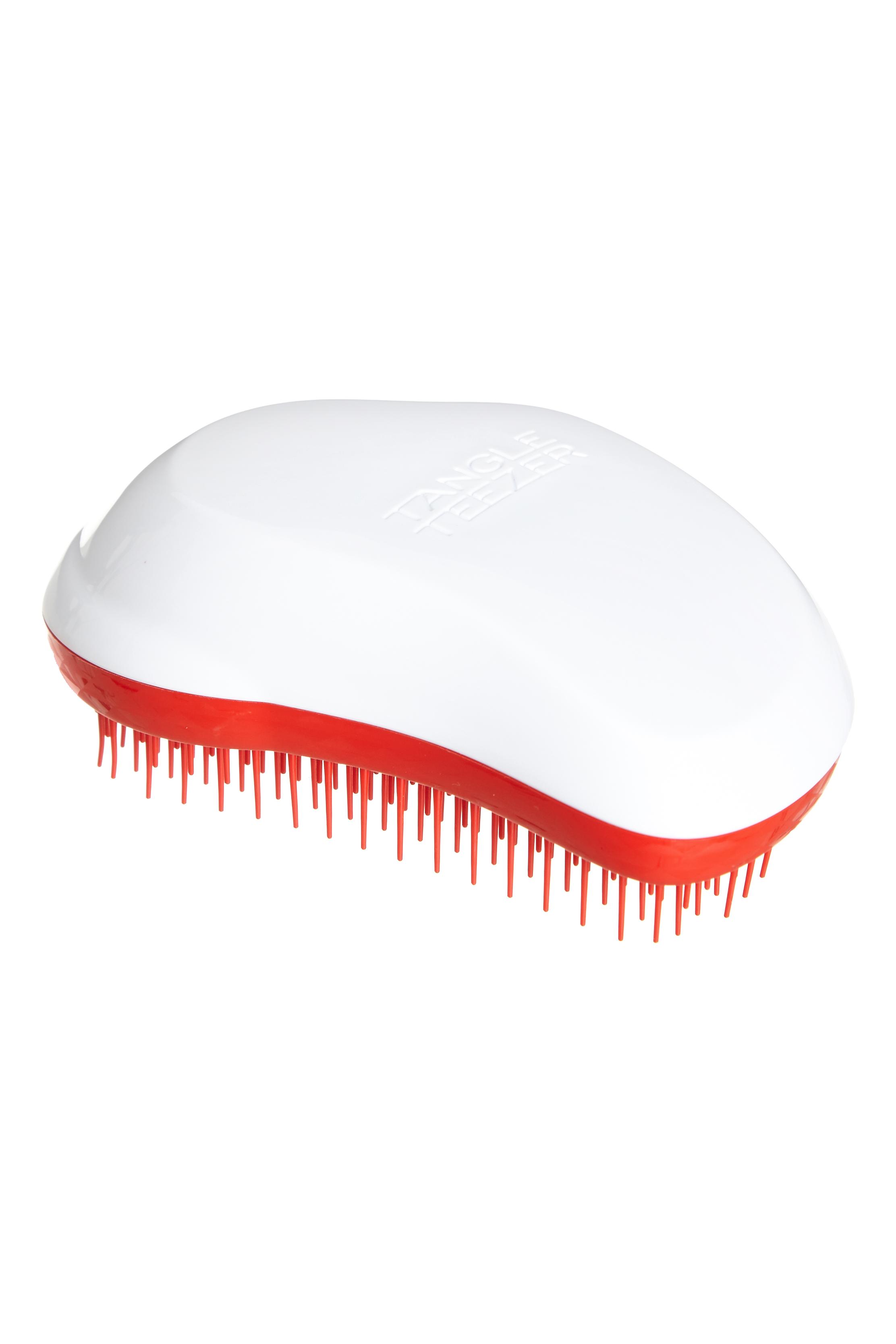 TANGLE TEEZER Расческа / Tangle Teezer The Original Christmas White/RedРасчески<br>Профессиональная распутывающая расческа Tangle Teezer идеально подходит для всех типов волос. Оригинальная форма зубчиков обеспечивает двойное действие и позволяет быстро, бережно и безболезненно расчесать влажные и сухие волосы. Благодаря эргономичному дизайну, расчёску удобно держать в руках, не опасаясь выскальзывания. Активные ингредиенты. Состав: гипоаллергенный пластик. Не повреждает структуру волос при расчесывании. Не электролизует, не выдирает, не тянет волосы. Распутывает колтуны. Зубчики изготовлены из гибкого, пластичного материала. Tangle Teezer можно расчесывать даже мокрые волосы. Расчесывать волосы можно от самых корней (а не с кончиков, как это делают обычно). Идеально подходит для кудрявых, длинных волос, нарощенных волос, париков. Отличительная особенность Tangle Teezer - массаж головы, который улучшает кровообращение и способствует росту волос. Изготовлена из экологически чистого материала. Разработана для профессионального ухода за волосами. Полноразмерный вариант расчески Tangle Teezer. Максимальный эффект от массажа достигается благодаря эргономичной форме расчески и зубчиков.<br><br>Класс косметики: Профессиональная<br>Типы волос: Для всех типов