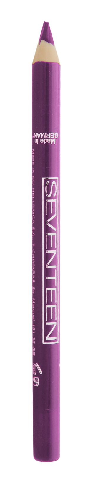 SEVENTEEN Карандаш для губ водостойкий с витамином Е, 33 холодный виноградный / Super Smooth W/P Lip Liner 1,2 г косметические карандаши seventeen карандаш для губ водостойкий с витамином е super smooth w p lip liner 32
