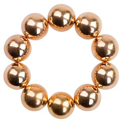 IRISK PROFESSIONAL Набор магнитных шариков для дизайна гель-лаком Кошачий глаз, 04 бронза 10 шт  - Купить