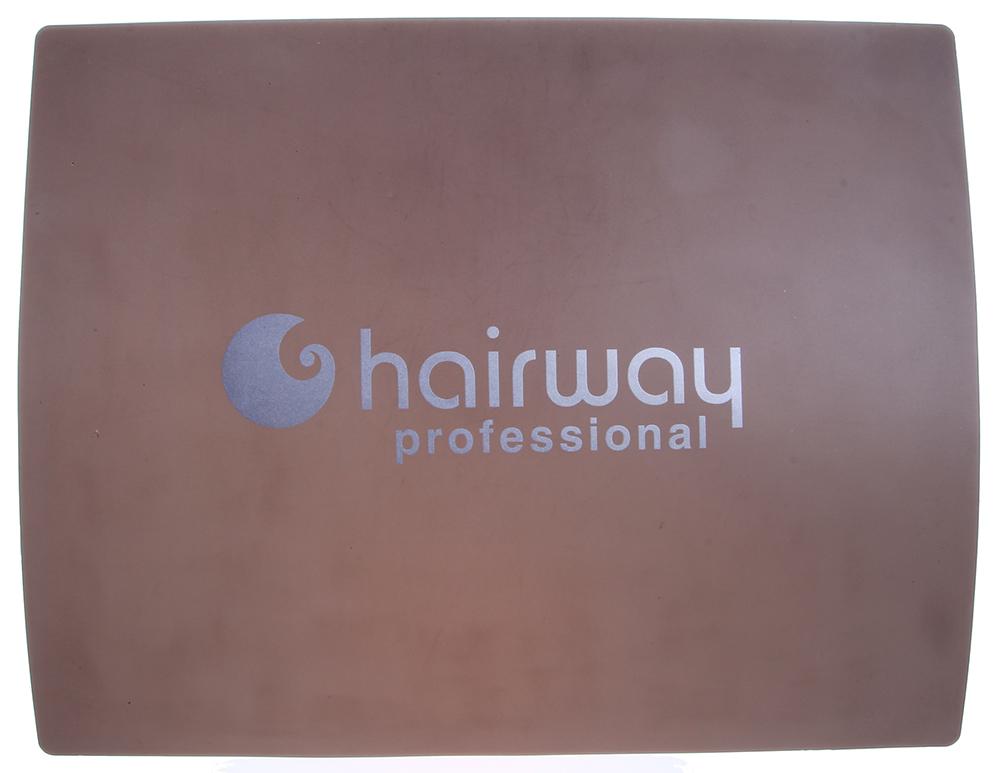 HAIRWAY Коврик HW термоустойчивый 160х210ммКоврики<br>Коврик термоустойчивый силиконовый, для защиты мебели от горячих электроприборов. Размеры 160х210 мм<br>