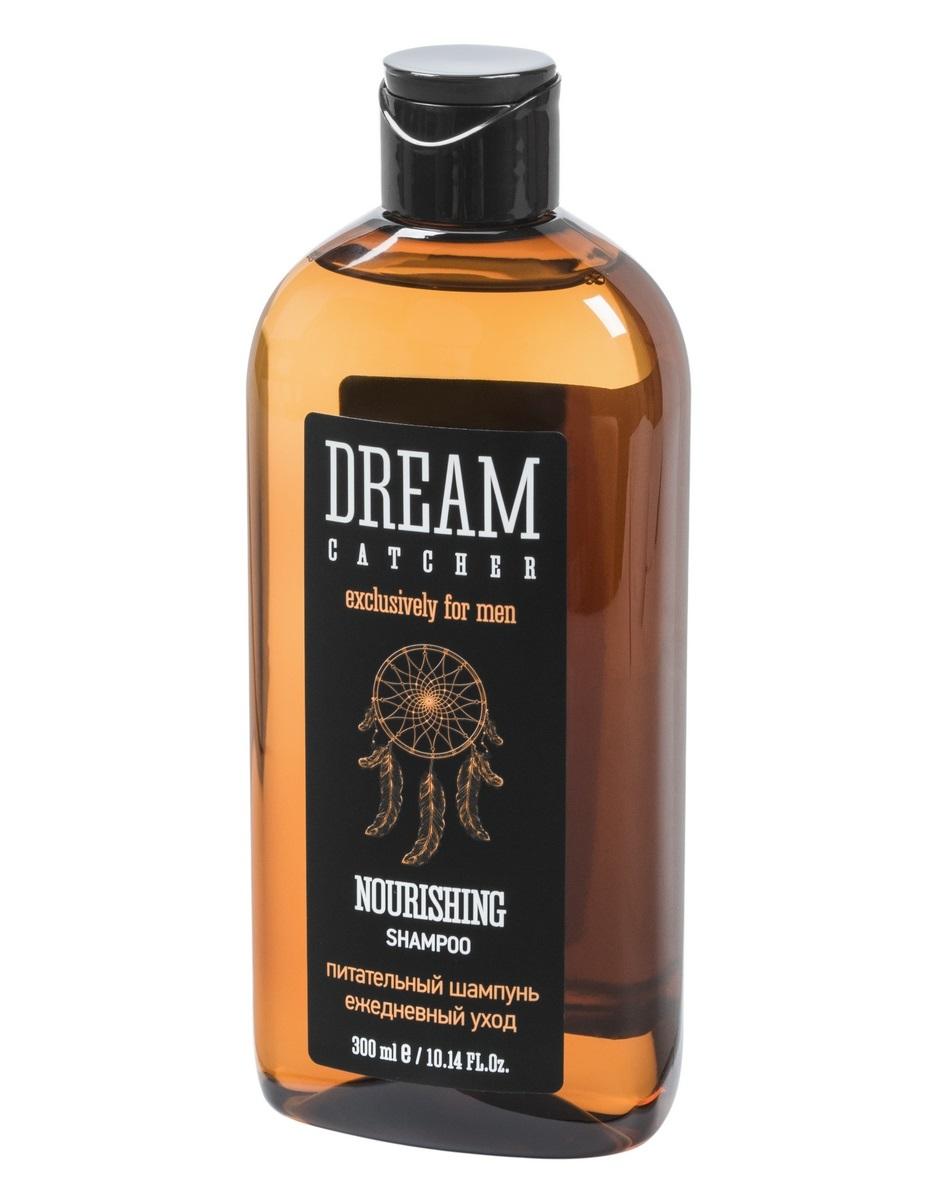 DREAM CATCHER Шампунь питательный для волос 300 мл шампунь для волос мягкий для ежедневного применения шунгит 300 мл