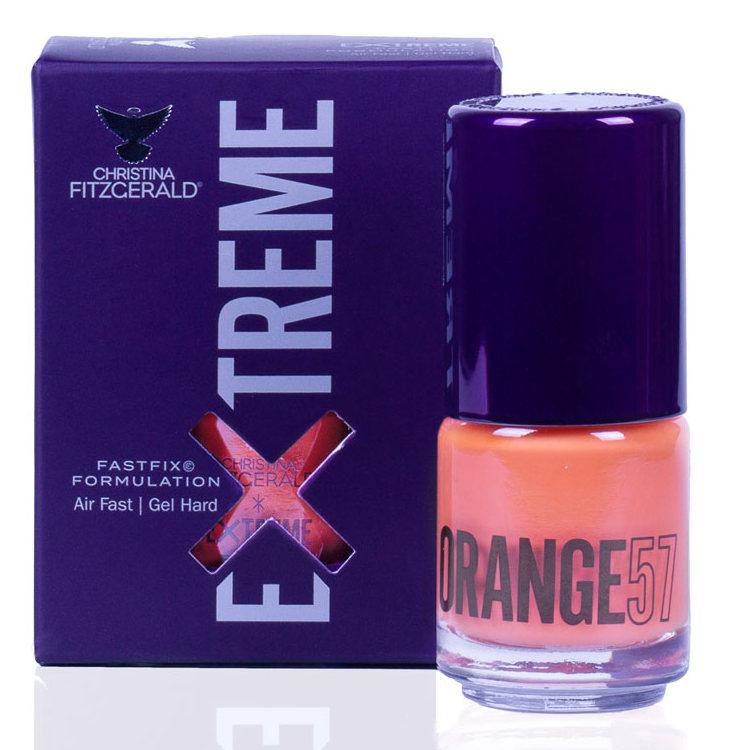 Купить CHRISTINA FITZGERALD Лак для ногтей 57 / ORANGE EXTREME 15 мл, Оранжевые