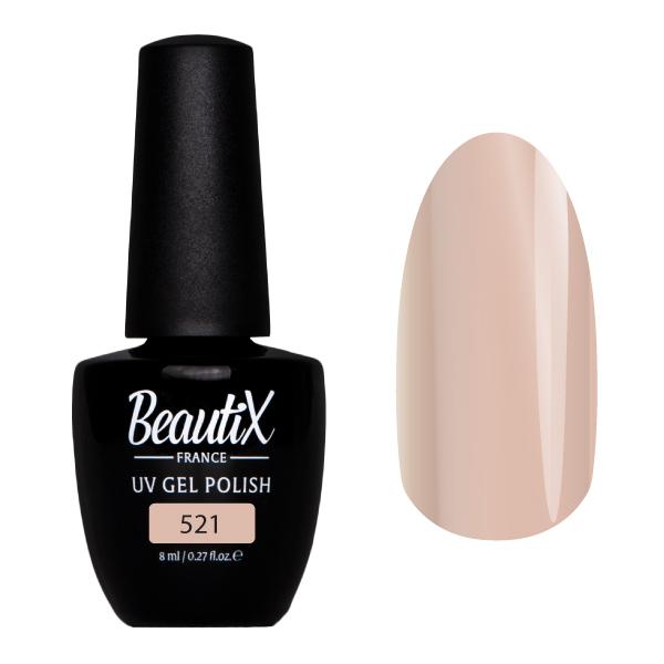 Купить BEAUTIX 521 гель-лак для ногтей 8 мл, Коричневые