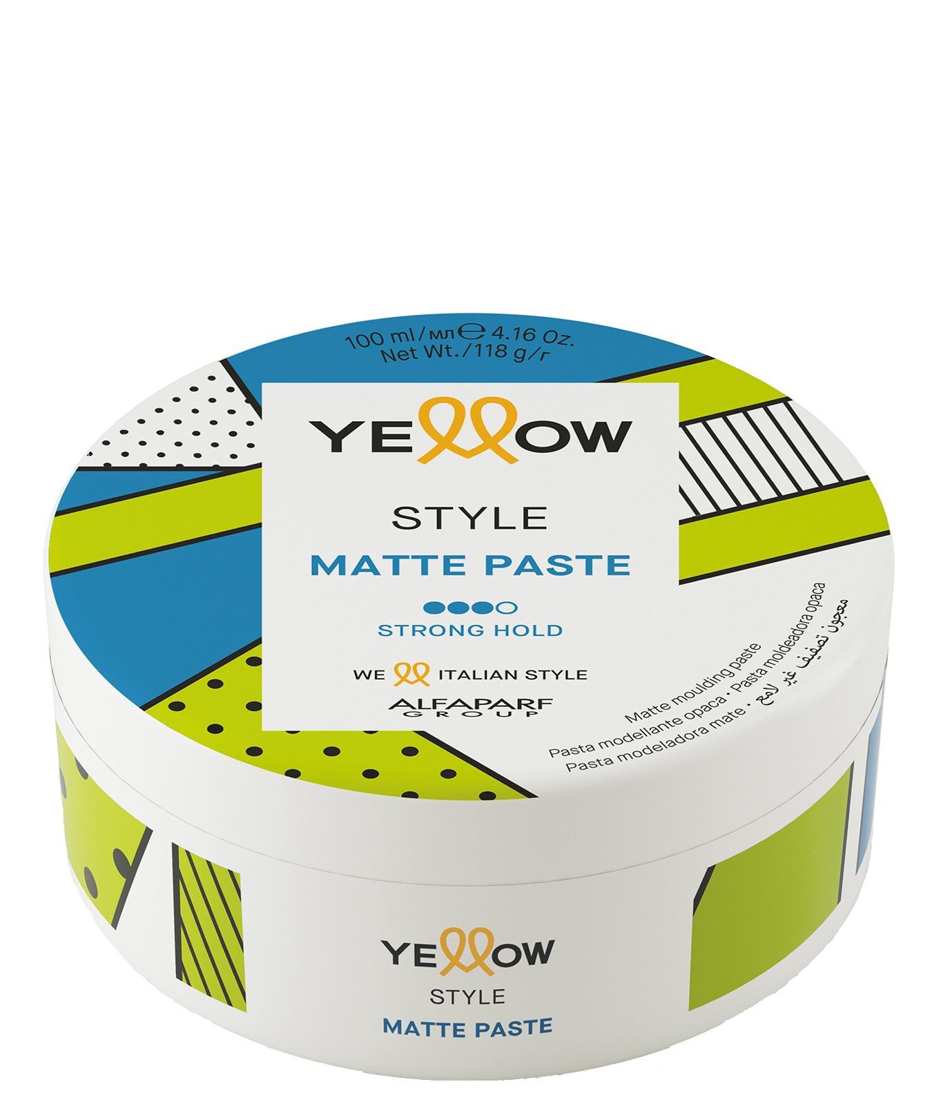 Купить YELLOW Паста матирующая сильной фиксации / YE STYLE MATTE PASTE 100 мл