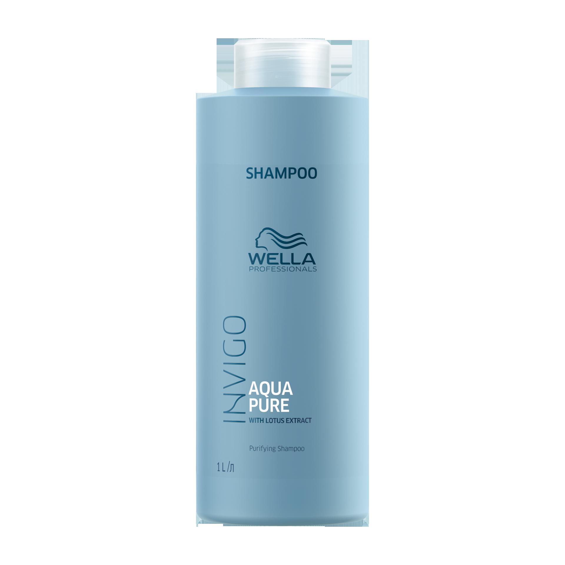 Купить WELLA Professionals Шампунь очищающий с экстрактом лотоса / Aqua Pure 1000 мл