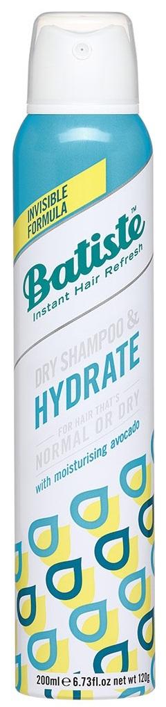 BATISTE Шампунь сухой увлажняющий для нормальных и сухих волос / HAIR BENEFITS HYDRATE 200 мл