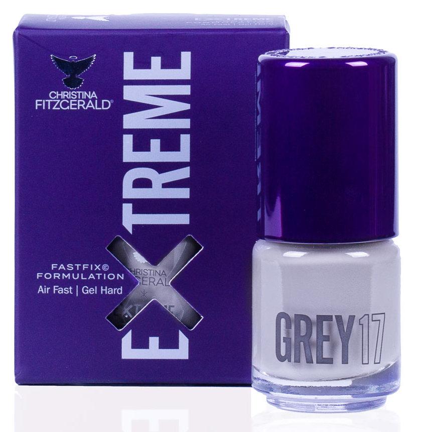 Купить CHRISTINA FITZGERALD Лак для ногтей 17 / GREY EXTREME 15 мл, Серые