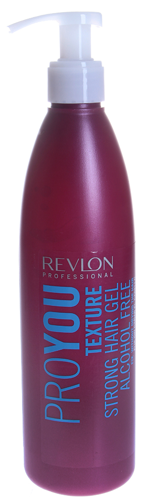 REVLON Гель сильной фиксаций / PROYOU TEXTURE 350млГели<br>Позволяет делать рваные прически на волосах короткой и средней длины, не повреждая волосы. Не оставляет следов, не содержит спирта.  Способ применения: Нанести на влажные волосы.<br>
