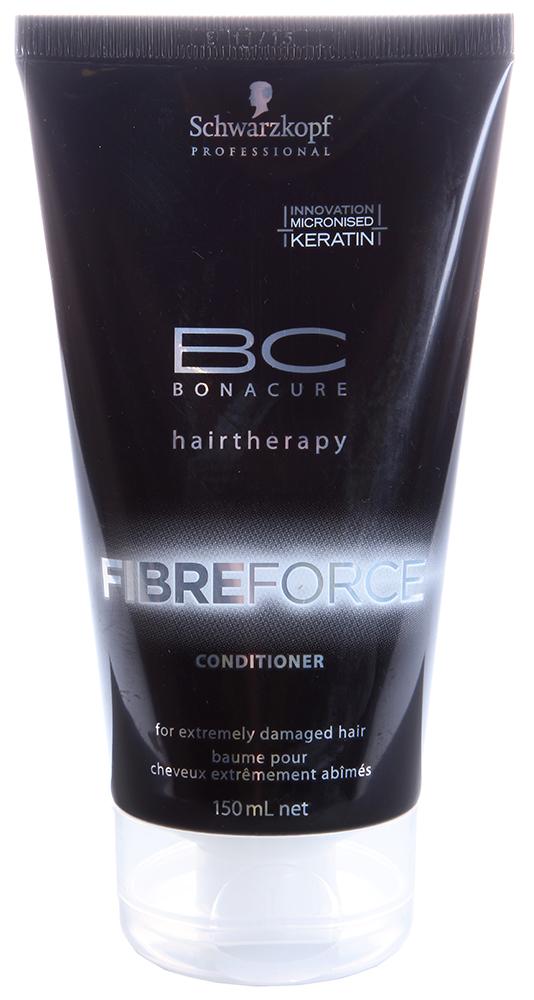 SCHWARZKOPF PROFESSIONAL Кондиционер усиливающий / BC FIBRE FORCE 150млКондиционеры<br>Распутывает экстремально поврежденные волосы, возвращая им прочность. Формула глубоко питает структуру волос. Для упругости, эластичности и силы волос. Способ применения: Нанести на волосы после использования шампуня. Выдержать 5 минут, смыть.<br><br>Типы волос: Поврежденные