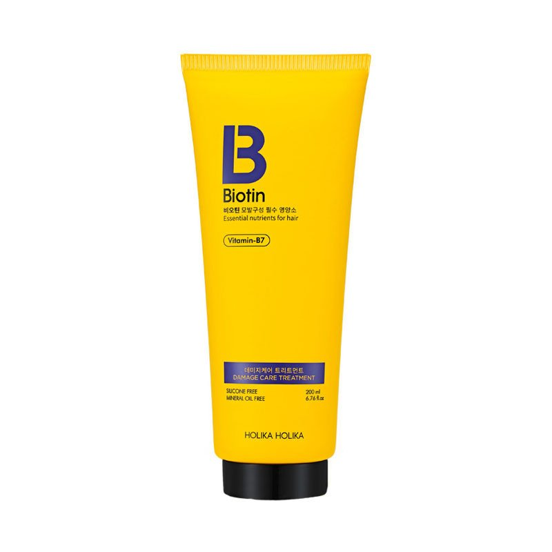 HOLIKA HOLIKA Кондиционер для поврежденных волос Биотин / Biotin Damage Care Treatment 200 мл