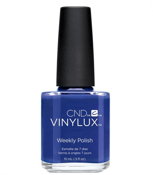 "CND 238 лак недельный для ногтей ""Blue Eyeshadow"" / VINYLUX New Wave Collection 15мл"