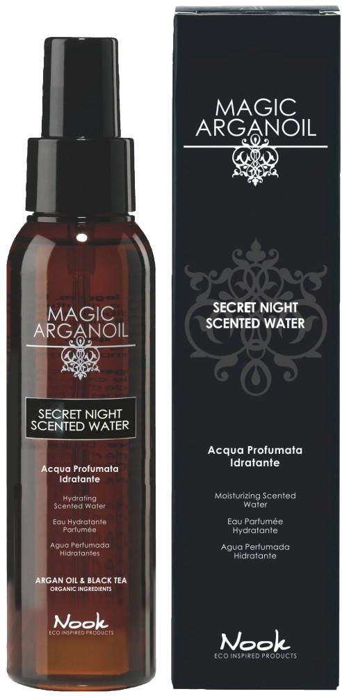 Купить NOOK Вода душистая увлажняющая для лица, тела и волос / Secret Night Scented Water for Body & Hair MAGIC ARGANOIL 100 мл