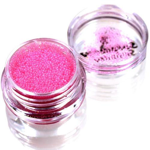 SOLOMEYA Бульонки для дизайна, розовый стеклярус