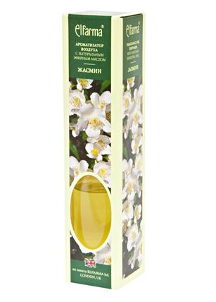 ELFARMA Ароматизатор воздуха с натуральным эфирным маслом Жасмин 50мл
