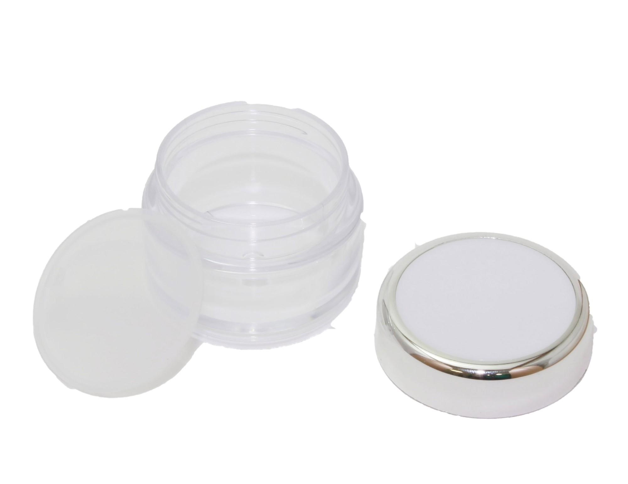 RFbeauty Лоток пластиковый круглый прозрачный 10 см СМ43 от Галерея Косметики