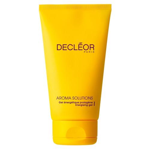 DECLEOR Гель укрепляющий для лица и тела / AROMA SOLUTIONS 150млГели<br>Энергетически активный гель комплексного действия для лица и тела. Глубоко проникает в кожу, снабжая ее активными компонентами, восстанавливающими естественный уровень коллагена. Способствует безрубцовому заживлению кожи, применяется после пластических операций. Восстанавливает структуру коллагеновых волокон, повышает тургор кожи. Активные ингредиенты: пролин (аминокислота), эфирное масло османтуса (абсолю). Способ применения: гель распределяется по поверхности кожи легкими похлопывающими движениями после нанесения соответствующей ароматической эссенции. Средство не используется как самостоятельный продукт, а только в сочетании с кремом по типу кожи.<br><br>Типы кожи: Для всех типов