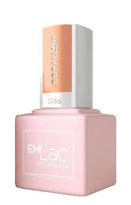 E.MI 086 SC гель-лак для ногтей, Кэролайн / E.MiLac 6 мл