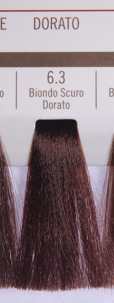 BAREX 6.3 краска для волос / PERMESSE 100млКраски<br>Оттенок: Темный блондин золотистый. Профессиональная крем-краска Permesse отличается низким содержанием аммиака - от 1 до 1,5%. Обеспечивает блестящий и натуральный косметический цвет, 100% покрытие седых волос, идеальное осветление, стойкость и насыщенность цвета до следующего окрашивания. Комплекс сертифицированных органических пептидов M4, входящих в состав, действует с момента нанесения, увлажняя волосы, придавая им прочность и защиту. Пептиды избирательно оседают в самых поврежденных участках волоса, восстанавливая и защищая их. Масло карите оказывает смягчающее и успокаивающее действие. Комплекс пептидов и масло карите стимулируют проникновение пигментов вглубь структуры волоса, придавая им здоровый вид, блеск и долговечность косметическому цвету. Активные ингредиенты:&amp;nbsp;Сертифицированные органические пептиды М4 - пептиды овса, бразильского ореха, сои и пшеницы, объединенные в полифункциональный комплекс, придающий прочность окрашенным волосам, увлажняющий и защищающий их. Сертифицированное органическое масло карите (масло ши) - богато жирными кислотами, экстрагируется из ореха африканского дерева карите. Оказывает смягчающий и целебный эффект на кожу и волосы, широко применяется в косметической индустрии. Масло карите защищает волосы от неблагоприятного воздействия внешней среды, интенсивно увлажняет кожу и волосы, т.к. обладает высокой степенью абсорбции, не забивает поры. Способ применения:&amp;nbsp;Крем-краска готовится в смеси с Молочком-оксигентом Permesse 10/20/30/40 объемов в соотношении 1:1 (например, 50 мл крем-краски + 50 мл молочка-оксигента). Молочко-оксигент работает в сочетании с крем-краской и гарантирует идеальное проявление краски. Тюбик крем-краски Permesse содержит 100 мл продукта, количество, достаточное для 2 полных нанесений. Всегда надевайте подходящие специальные перчатки перед подготовкой и нанесением краски. Подготавливайте смесь крем-краски и молочка-оксигента Permesse в не