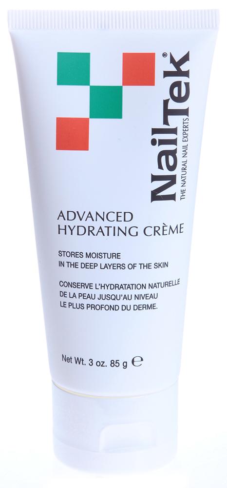 NAIL TEK Крем увлажняющий для кожи / Advanced Hydrating Creme 85грКремы<br>Увлажняющий крем длительного действия с активной водозащитной функцией сохраняет влагу по всей толщине эпидермиса, активизируя его функции. Предназначен для глубокого увлажнения кожи рук и защиты её от агрессивных воздействий внешней среды. В отличие от других кремов, которые нужно наносить каждый раз до и после контакта с водой, Advanced Hydrating Crеme наносится только один раз в день, поскольку он сохраняет влагу по всей толщине эпидермиса. Всякий раз, когда руки взаимодействуют с водой, крем активизирует свою водозащитную функцию. После того, как руки высушены, крем активизирует функцию увлажнения.  Способ применения: Наносится массирующими движениями на кожу рук, рекомендуется применять один раз в день с утра.<br><br>Вид средства для тела: Увлажняющий