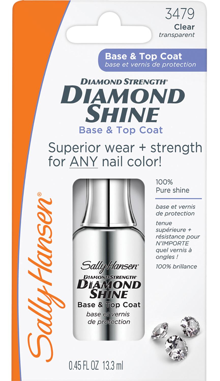 SALLY HANSEN Средство 2 в 1 (база и верхнее покрытие) / diamond strength - Базовые покрытия