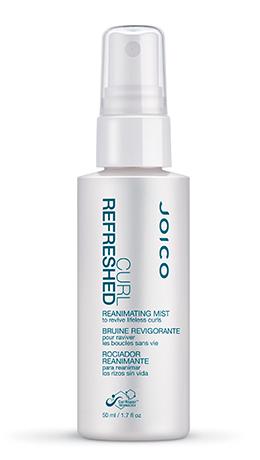 JOICO Реаниматор кудрей / CURL REFRESHED REANIMATING MIST 50млОсобые средства<br>Освежает текстуру волос, реактивирует стайлинговые продукты, придавая волосам дополнительный блеск и гладкость. Легко и непринужденно возвращает локонам природную упругость и ярко выраженную очерченность между процедурами мытья головы. Способ применения: распылите на сухие волосы, придайте руками нужную форму.<br><br>Объем: 50 мл<br>Типы волос: Сухие