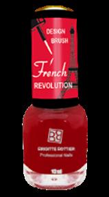 BRIGITTE BOTTIER Лак French Revolution тон FR 628 красный / French Revolution 12млЛаки<br>Прекрасная новая революционная коллекция для дизайна ногтей, включая французский маникюр. Цветной лак с узкой дизайнерской кисточкой, удобной для&amp;nbsp;нанесения тончайших рисунков. &amp;nbsp;Помимо камуфляжных тонов &amp;nbsp;в качестве основного цветного покрытия можно использовать любой цветной лак из коллекций &amp;nbsp;Brigitte Bottier. Активные ингредиенты. Состав: бутилацетат, этилацетат, нитроцеллюлоза, ацетил трибутил цитрат, адипиновая кислота/неопентил гликоль/триметиловый сополимер ангидрида, спирт изоприловый, стирол/ сополимер акрилат, стеаралкониум бетонит, силика, Н-бутиловый спирт, бензофенон-1, диацетоновый спирт, триметилпентанедил дибензоата, полиэтилен, фосфорная кислота. Способ применения: нанесите камуфляжный &amp;nbsp;лак - одно из двух &amp;nbsp;базовых &amp;nbsp;покрытий (Base Coat 620 или Base Coat 621) или любой цветной лак из коллекций Brigitte Bottier в 2 слоя, дайте высохнуть каждому слою. Нанесите рисунок цветным лаком &amp;nbsp;из коллекции French Revolution,дайте высохнуть.Нанесите Top Coat, дайте высохнуть. &amp;nbsp;Цвета палитры могут отличаться от оригиналов из-за настройки монитора Вашего компьютера.<br><br>Цвет: Красные
