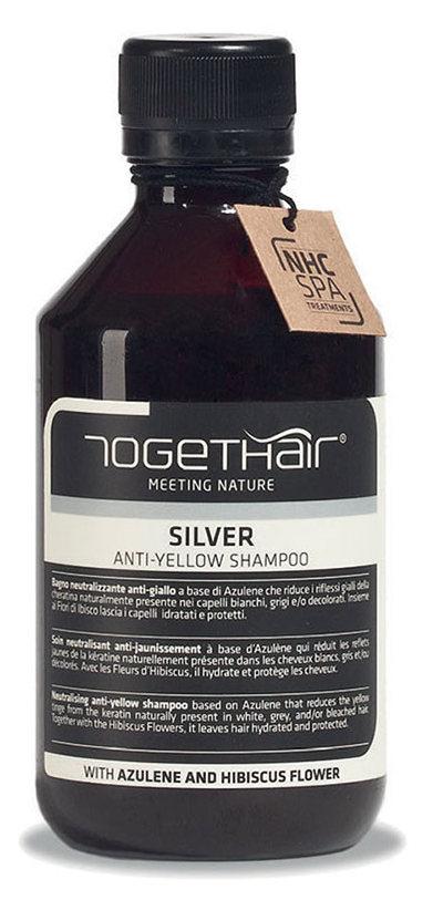 TOGETHAIR Шампунь против желтизны осветленных и седых волос / Silver Shampoo anti-yellow 250 мл фото