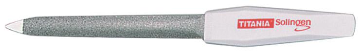 TITANIA Пилка для ногтей 15 см изогнутая 1049/6
