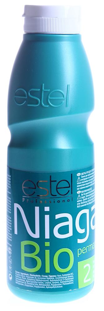 ESTEL PROFESSIONAL Био-перманент  2 для нормальных волос / Niagara 500млОкислители<br>Био-перманент нового поколения NIAGARA не содержит тиогликолят аммония. Мягкая формула слабощелочного средства, основанная на Цистеамине (Cysteamine), родственном по структуре одной из основных аминокислот волоса - Цистеину, обеспечивает щадящий эффект завивки и гарантирует получение ухоженных, равномерных, естественных локонов. Волосы постепенно меняют структуру по мере проникновения состава, при этом изменяется лишь небольшая часть серных мостиков, отвечающих за прочность волос. NIAGARA содержит провитамин В5 и имеет значение рН, близкое к нейтральному. Био-перманент обладает нейтральным запахом, обеспечивает деликатное воздействие и максимум ухода за волосами. Активные ингредиенты: Цистеин, провитамин В5. Способ применения: Продукция предназначена только для профессионального применения.<br><br>Объем: 500мл<br>Вид средства для волос: Щадящая<br>Класс косметики: Профессиональная