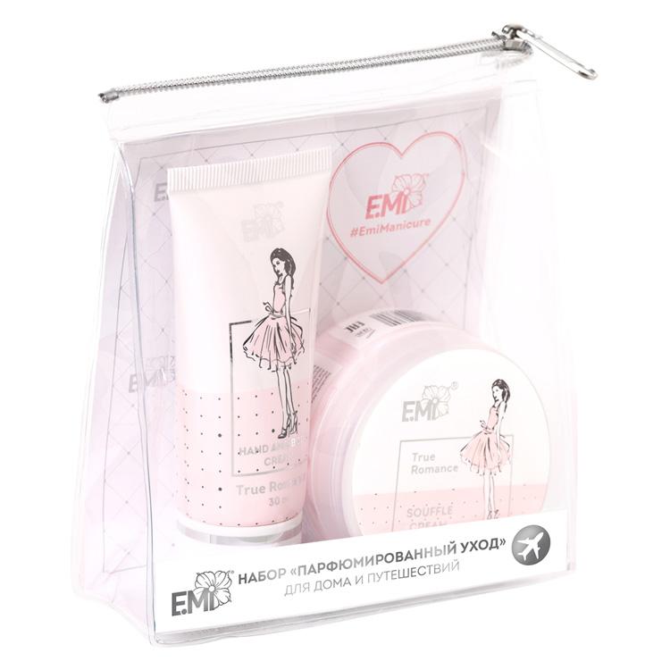 E.MI Набор Парфюмированный уход (крем-суфле 50 г + крем 30 мл) / True Romance Care System