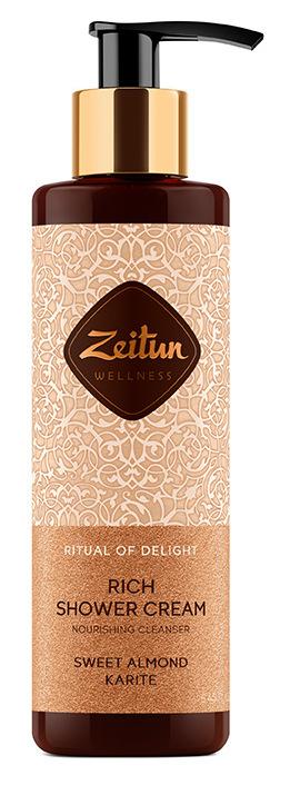 Купить ZEITUN Крем питательный для душа Ритуал наслаждения / Delight 250 мл
