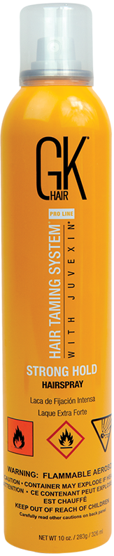 GKHair (Global Кеratin) Лак сильной фиксации для волос / Hair spray Strong hold 326 мл alterna лак сильной фиксации caviar anti aging extra hold hair spray 400ml