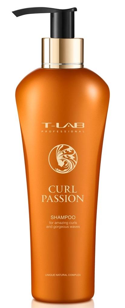 Купить T-LAB PROFESSIONAL Шампунь для вьющихся и кудрявых волос / Curl Passion 250 мл