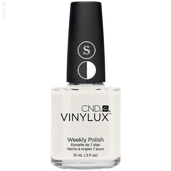 CND 151 лак недельный для ногтей / Studio White VINYLUX 15 мл